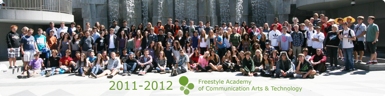 2011-2012 Freestyle Students