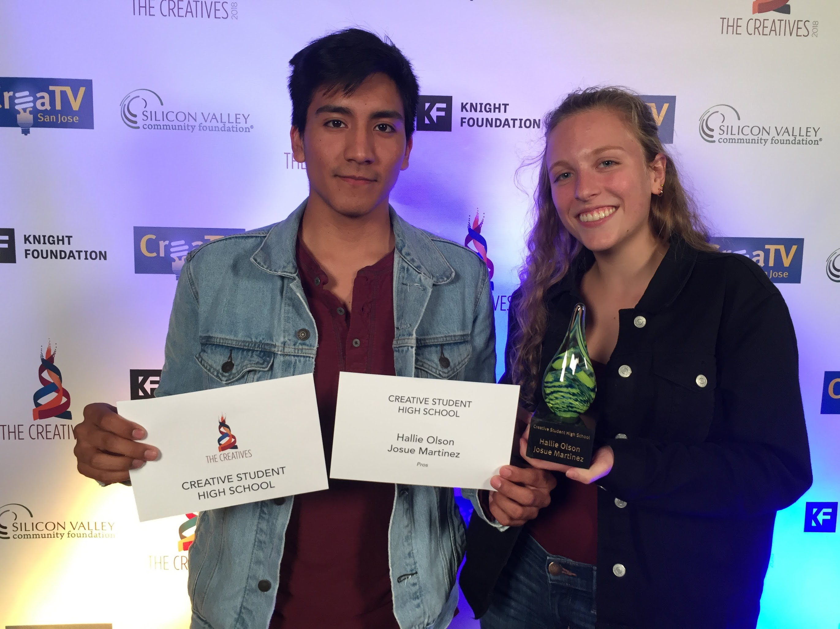 2018 Creative Student High School Award Winners