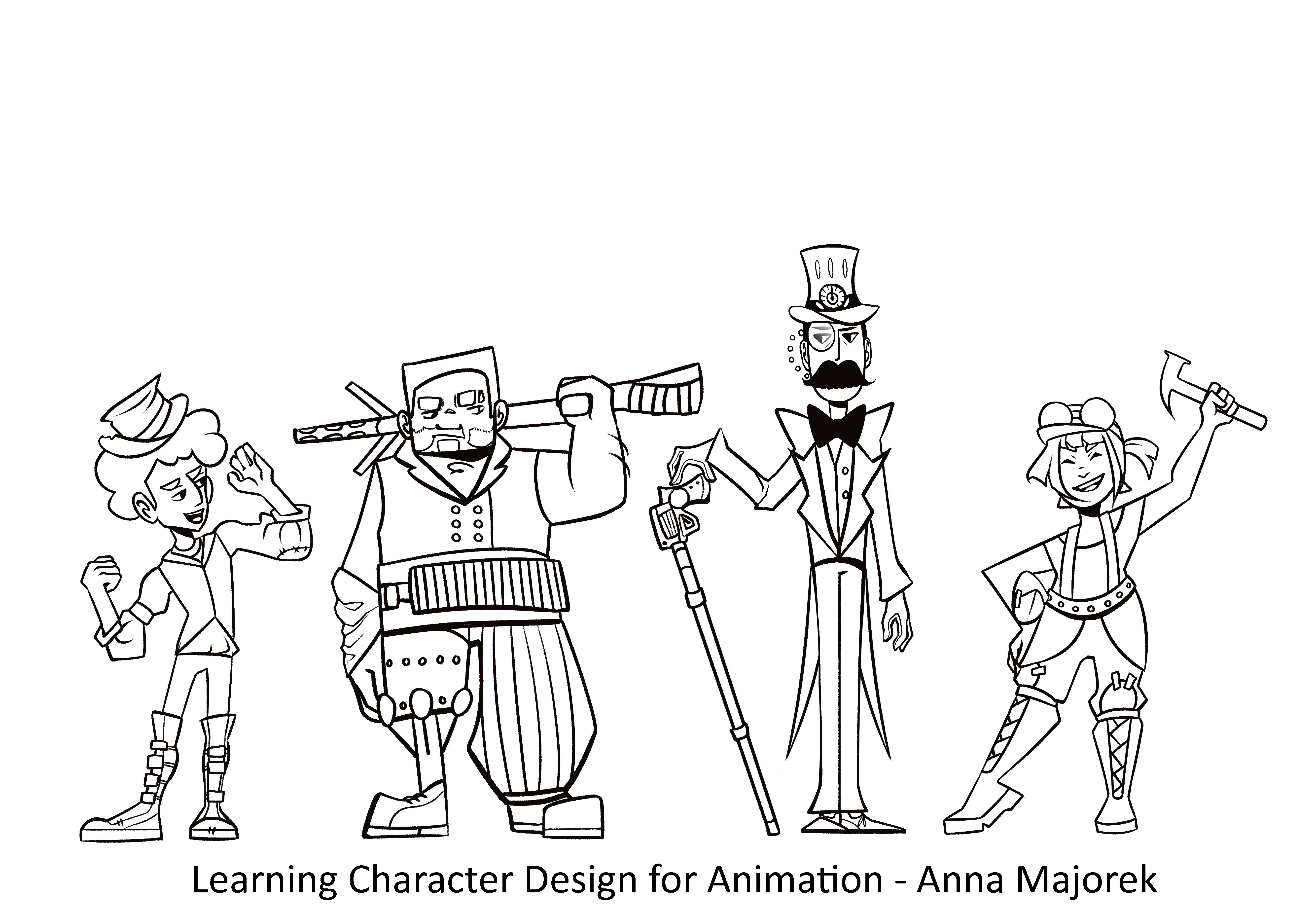lineartcharacters