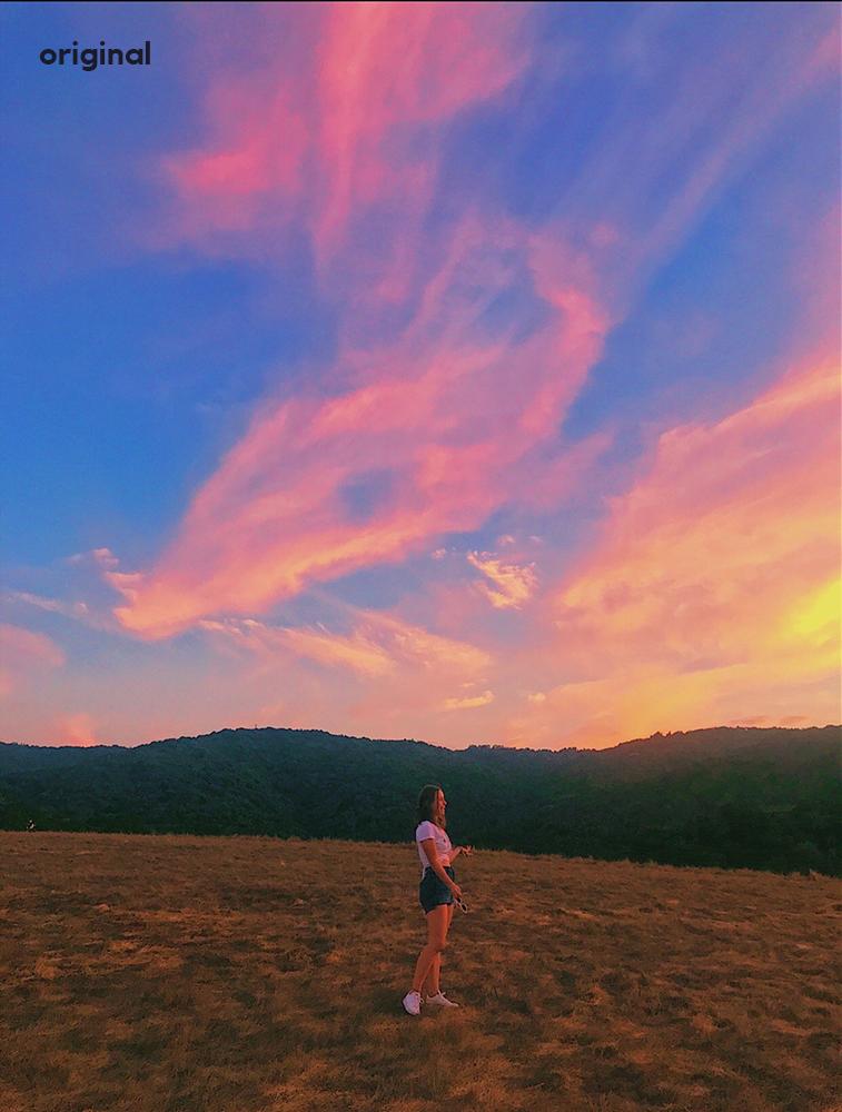sunset hill girl